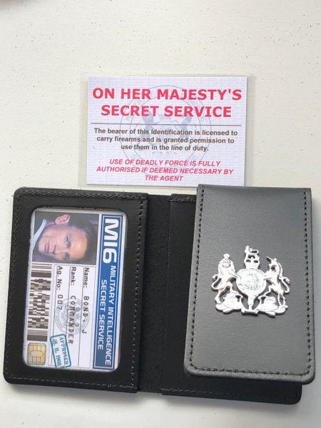 James Bond / Mi6 style prop wallet