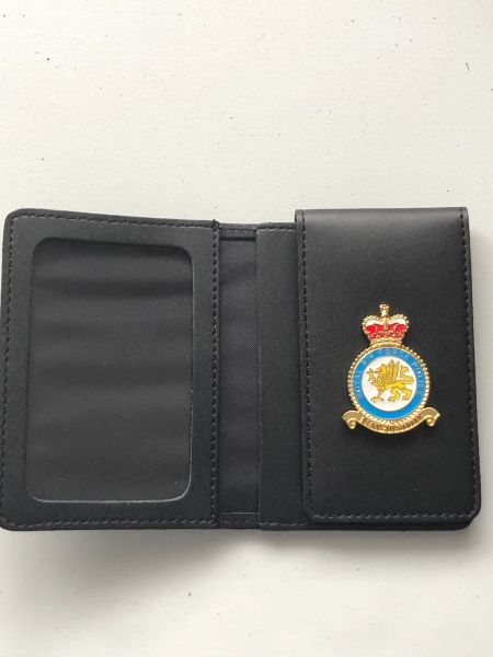 RAF Police badged ID wallet