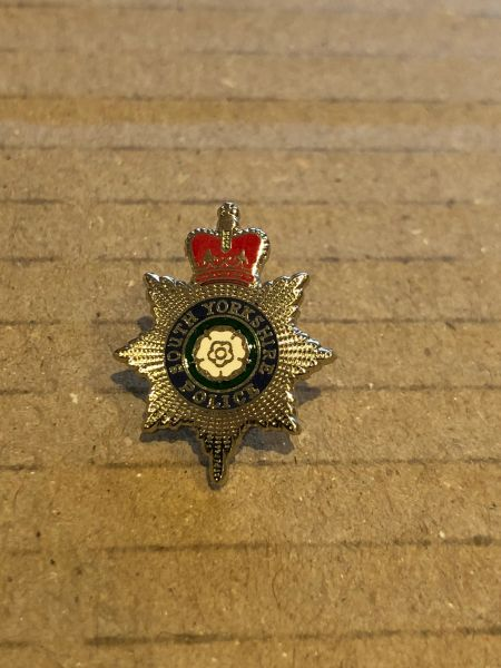 South Yorkshire Police pin badge