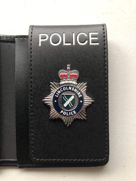 Lincolnshire police warrant card wallet (version 2)