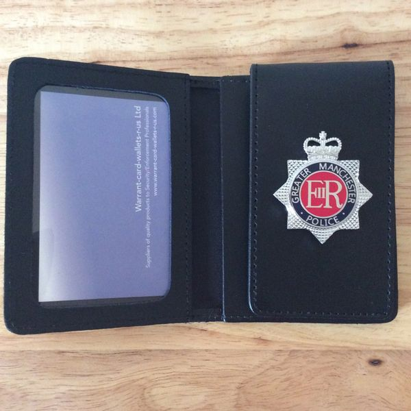 Greater Manchester Police badged Warrant card wallet #3