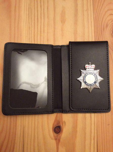 Nottinghamshire Police warrant card wallet