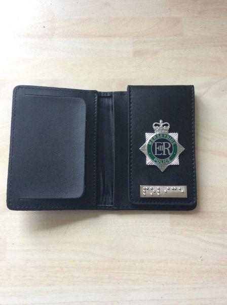Merseyside Police badged Warrant card wallet