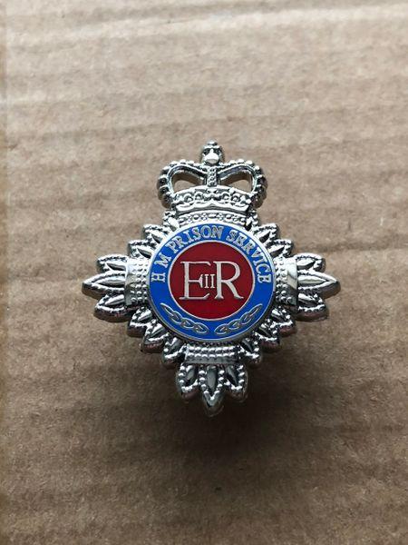 HMP HM Prison Service 25mm Pin badge