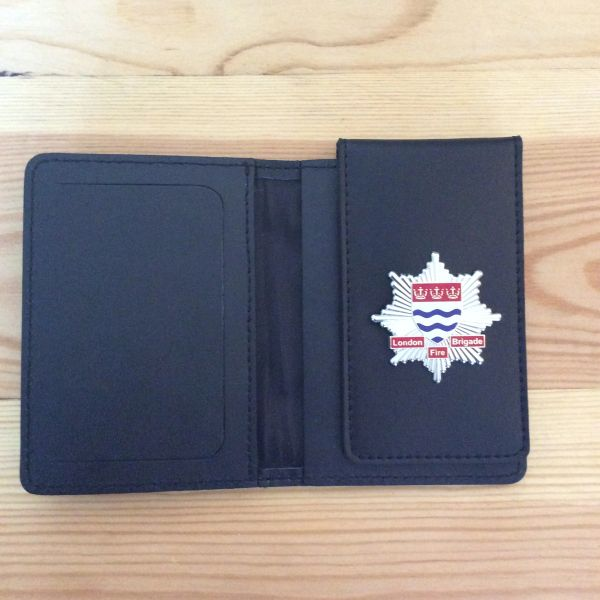 London Fire Brigade badged ID card wallet