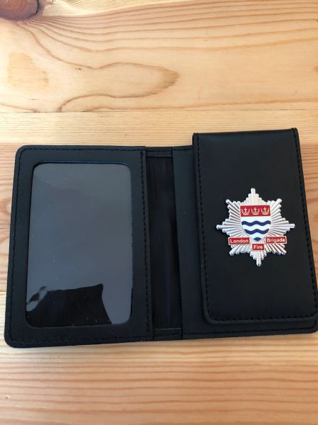 London Fire Brigade badged wallet