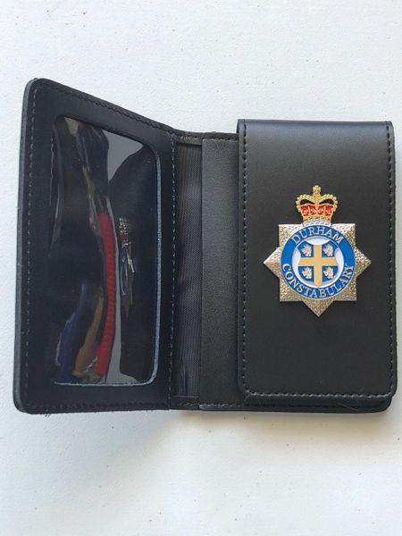 Durham Constabulary badged wallet #2
