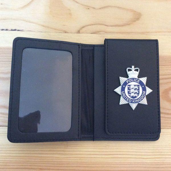 Police prop Warrant Card wallet