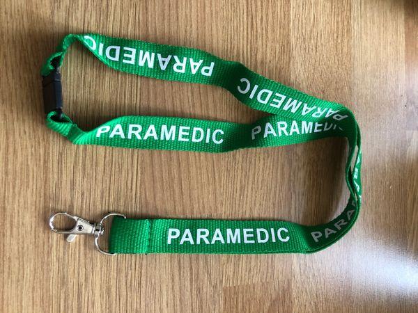 Paramedic lanyard