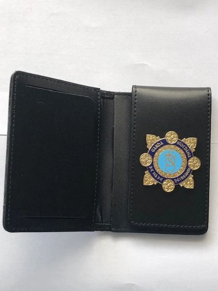 Garda Siochana Warrant Card wallet