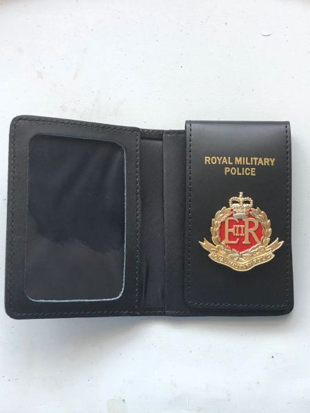 Royal Military Police warrant card wallet