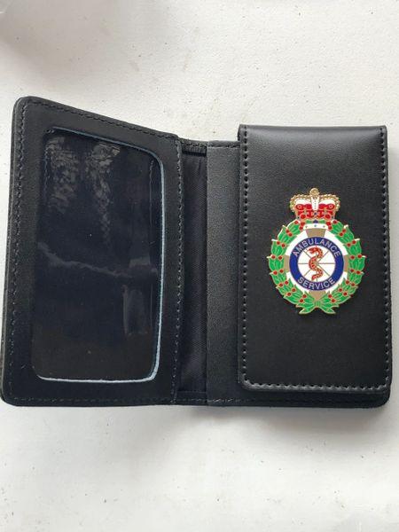 Ambulance service ID card holder
