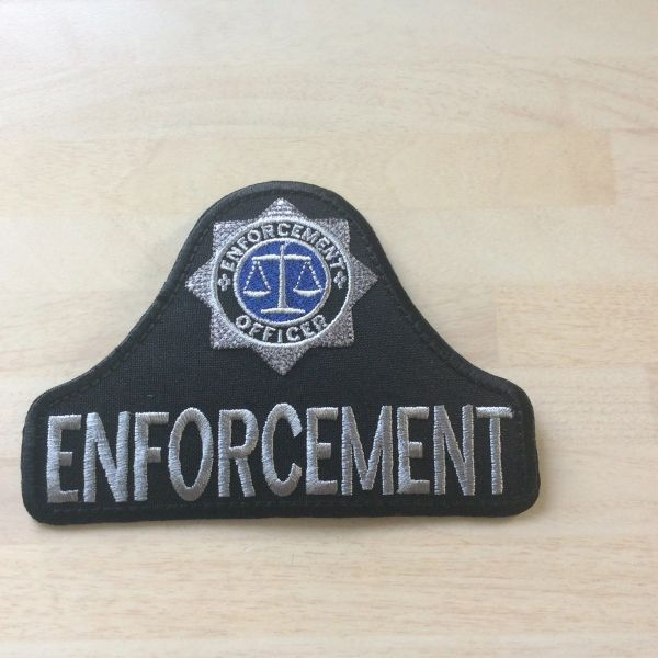 Enforcement patch- Bell shape