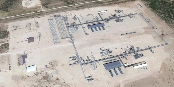 Martin's-built Cryogenic facility site-work, size approximately 40 acres, in approximately 4 weeks.