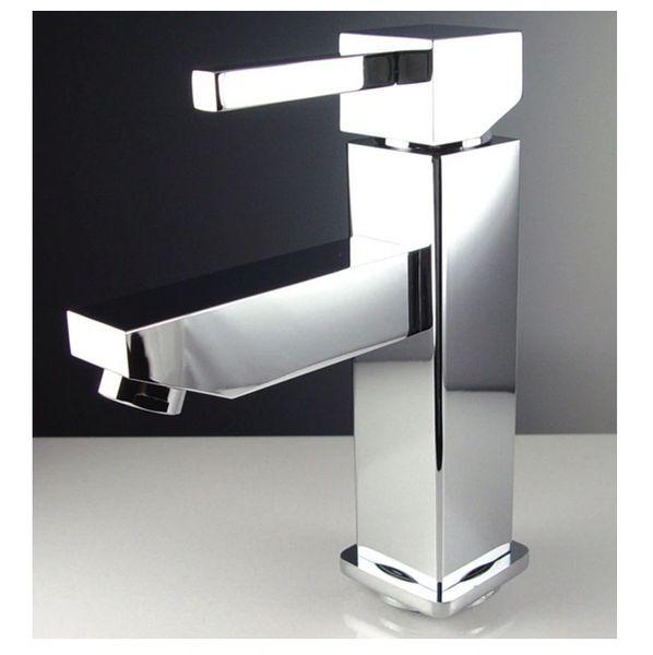 Bevera Single Hole Mount Bathroom Vanity Faucet - Chrome