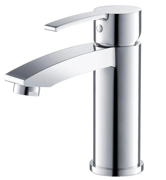 Livenza Single Hole Mount Bathroom Vanity Faucet - Chrome