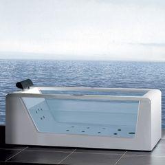 "Ariel Platinum AM152 59"" Whirlpool Bathtub 59x32x25.6"