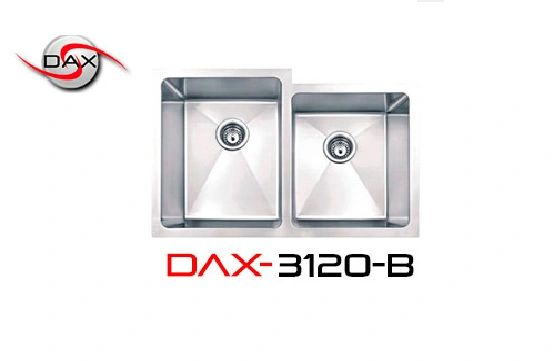 DAX3120B Stainless Steel Sink