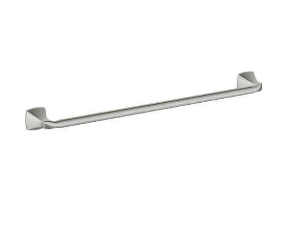 "VOSS Brushed Nickel 18"" Towel Bar"