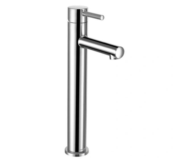 Align Chrome One-Handle High Arc Vessel Bathroom Faucet