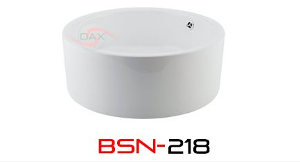 Ceramic Basin Round Over Mount DAX-BSN-218