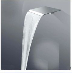 WALL Mounted CH Faucet SPOUT BRASS SQUARE