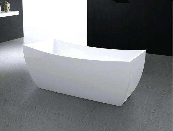 BRUSELAS WHITE FREESTANDING SOAKING BATHTUB