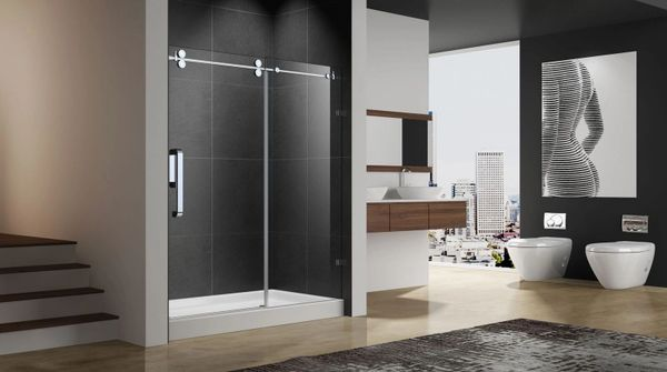 SKY SHOWER DOOR 60X76 CH OR BN