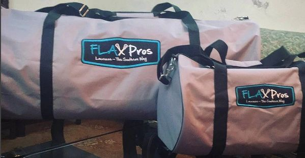 FLAX Pros Gear Bags - Fully Embroidered