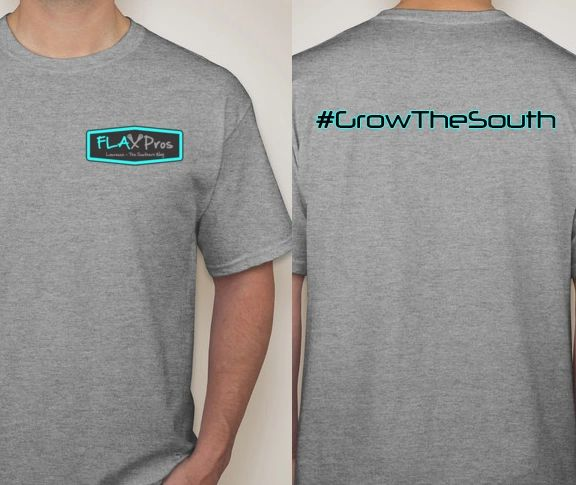 FLAX Pros Tee #GrowTheSouth