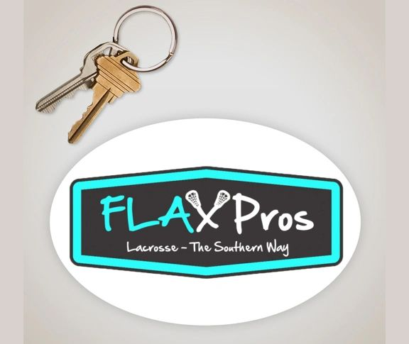 FLAX Pros 5in. x 3in sticker