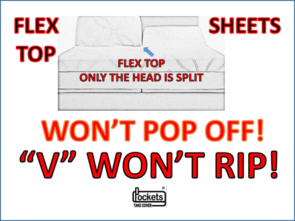 Won/'t Pop Off Split King Sheets Black Split California King 1 Top Sheet Option