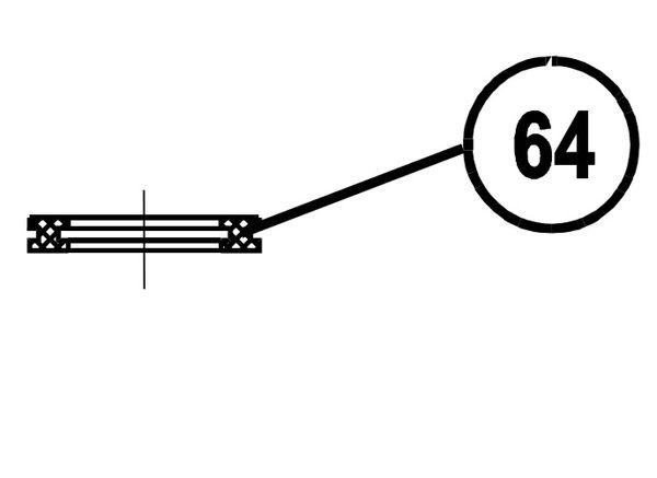 0409-2431 - SAF OCP150 Dual Gas Insulator