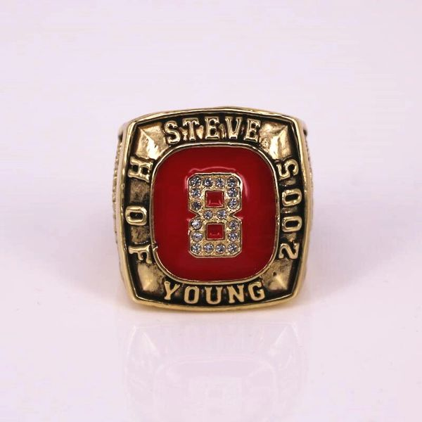 Fame Achievement Ring Lifetime vintage High Of Young 49ers Hall Steve Grade