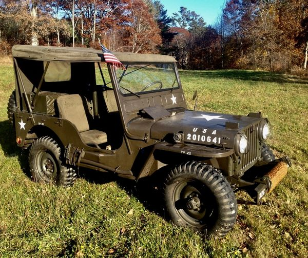 1951 Willys M38 Radio Jeep