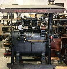 Porter Fairground Steam Plant Ex FORD Museum