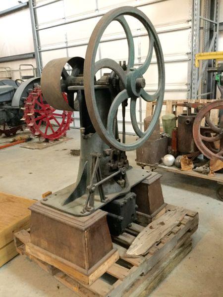 Rare 1865 Reversing Steam Marine Deck Engine