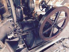 FINE One Cylinder Lunt Moss Gasoline Pumping Engine