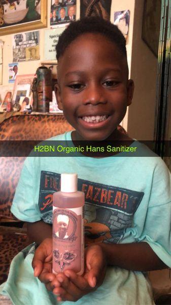 H2BN Organic Herbal Hand Sanitizer