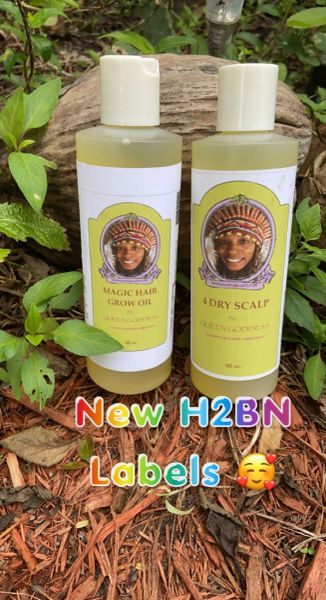 Magic Hair Grow Oil