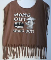 H2BN Ancient Ones Fringe Hang Out With Your Wang Out T-Shirt