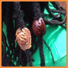 H2BN Raw Peach Seed Loc Jewelry