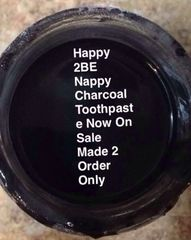 Organic Black Charcoal Toothpaste Made 2 Order