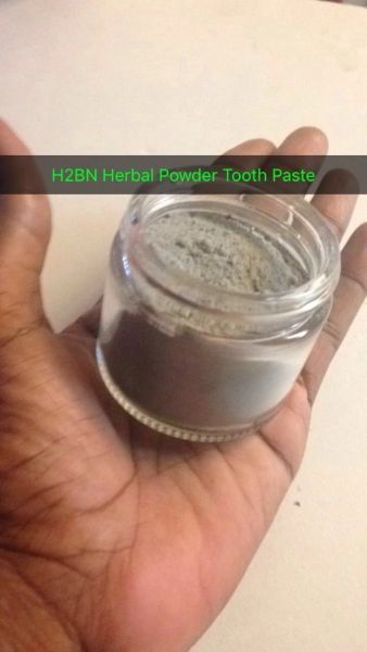 H2BN Organic Herbal Activated Charcoal Tooth Powder Made 2 Order