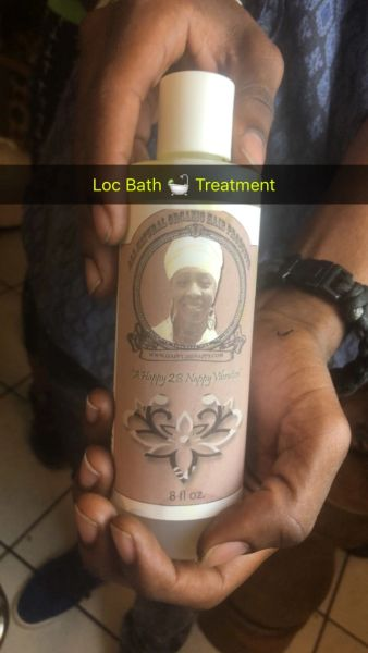 Loc Bath or Hair Bath Treatment