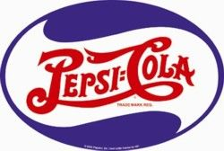Pepsi Cola Signs Metal