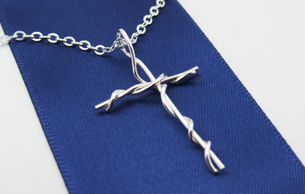 Handcrafted Sterling Silver Cross