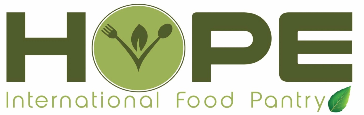 Hope International Food Pantry News