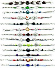 30 GLASS BRACELETS HANDMADE PERUVIAN WHOLESALE JEWELRY