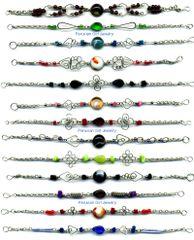 100 GLASS BRACELETS HANDMADE PERUVIAN WHOLESALE JEWELRY